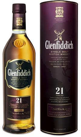 Glenfiddich Single Malt Scotch 21 Years